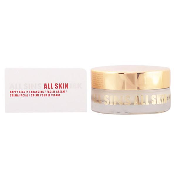 All Sins 18k - ALL SKIN happy beauty enhancing facial cream 50 ml-Universal Store London™