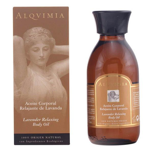 Alqvimia - BODY OIL lavender relaxing 150 ml-Universal Store London™