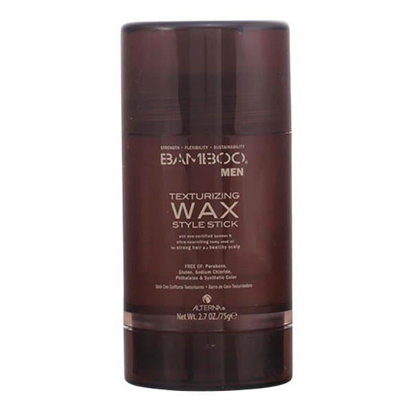 Alterna - BAMBOO MEN texturizing wax style stick 75 gr-Universal Store London™