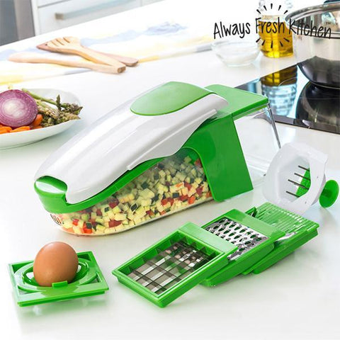 Image of Always Fresh Dicer Pro Vegetables Cutter and Peeler-Universal Store London™