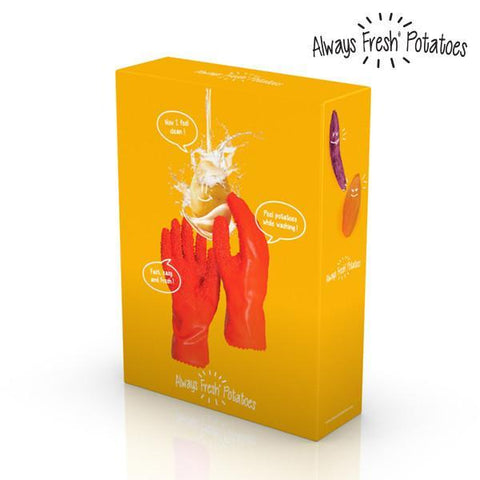 Image of Always Fresh Potato Peeling Gloves-Universal Store London™