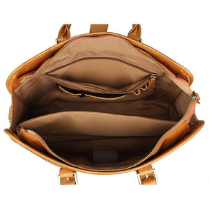 Amalfi Italian Leather Briefcase for Women-Universal Store London™