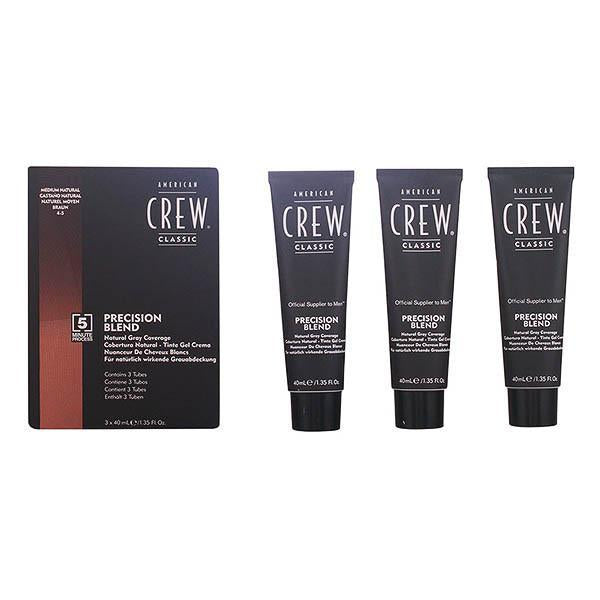 American Crew - PRECISION BLEND LOTE 4-5 medium natural 3 pz-Universal Store London™