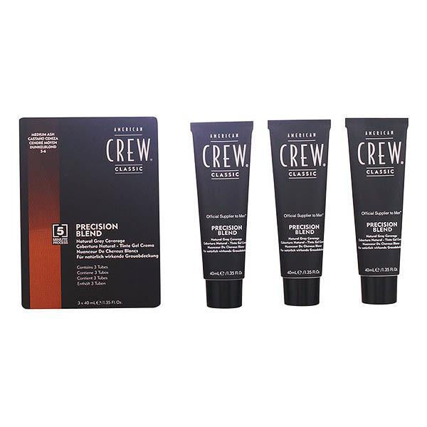 American Crew - PRECISION BLEND LOTE 5-6 medium ash 3 pz-Universal Store London™