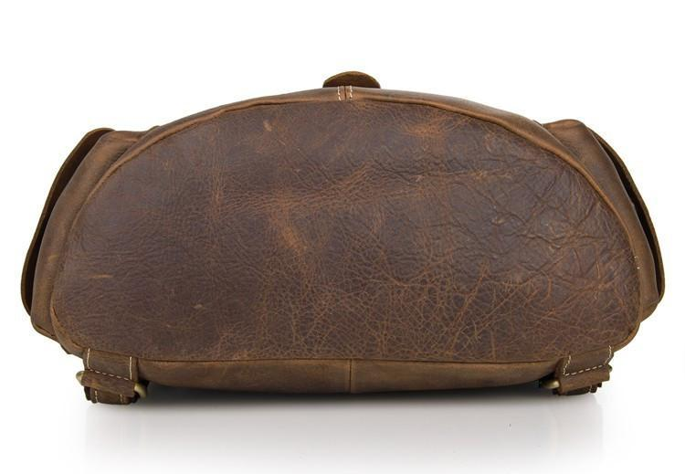 'American West' Vintage Handmade Leather Backpack-Universal Store London™