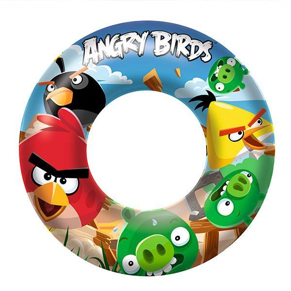 Angry Birds Inflatable Rubber Ring-Universal Store London™
