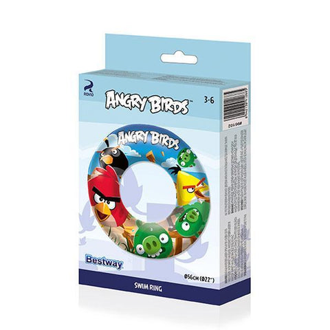 Image of Angry Birds Inflatable Rubber Ring-Universal Store London™