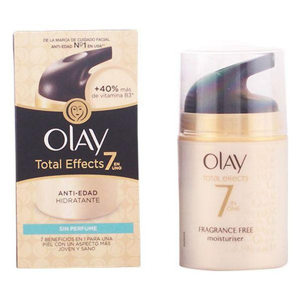 Anti-Ageing Hydrating Cream Total Effects Olay-Universal Store London™