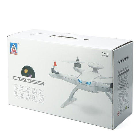 Image of AOSENMA CG035 Brushless Double GPS 5.8G FPV With 1080P HD Gimbal Camera Follow Me Mode RC Quadcopter-Universal Store London™