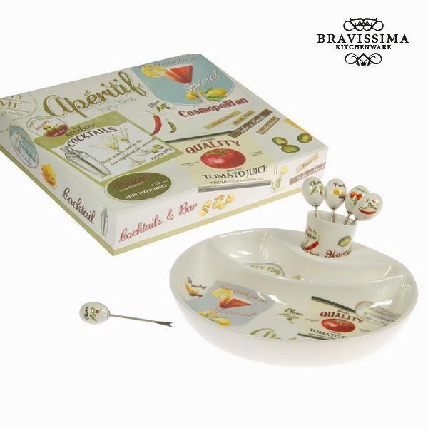 Aperitif set - Kitchen's Deco Collection by Bravissima Kitchen-Universal Store London™