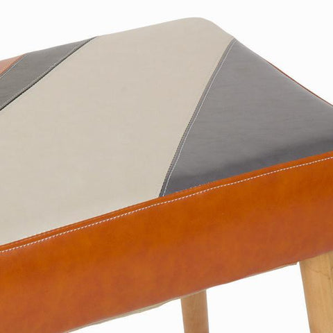 Image of Archie upholstered bench by Craftenwood-Universal Store London™