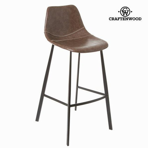 Image of Atlantic brown stool by Craften Wood-Universal Store London™