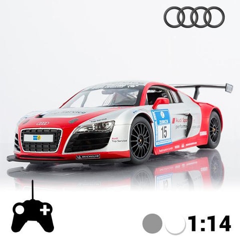 Image of Audi R8 LMS Remote Control Car-Universal Store London™
