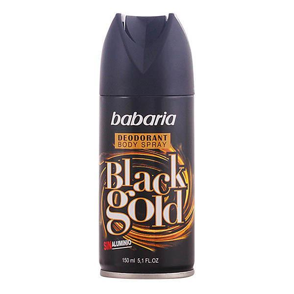 Babaria - BLACK GOLD deo vaporizador 150 ml-Universal Store London™