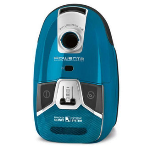 Image of Bagged Vacuum Cleaner Rowenta Silence Force Compact 4A RO6331EA 2 L 750W 68 dB (A) Blue-Universal Store London™