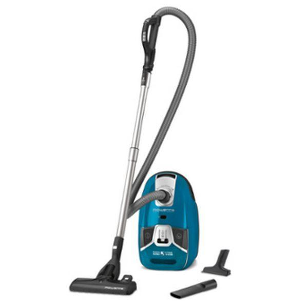 Bagged Vacuum Cleaner Rowenta Silence Force Compact 4A RO6331EA 2 L 750W 68 dB (A) Blue-Universal Store London™
