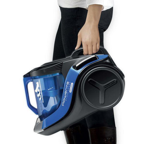 Image of Bagless Vacuum Cleaner Rowenta RO6941 750W 2,5 L 75 dB (A++) Black Blue-Universal Store London™