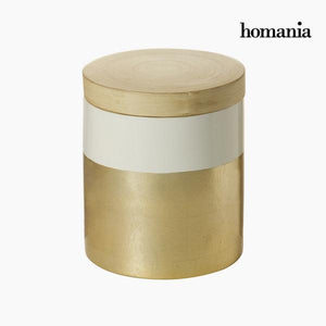 Bamboo box with lid by Homania-Universal Store London™