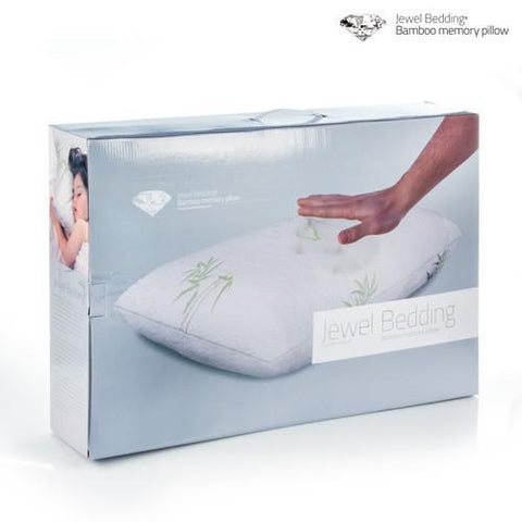 Image of Bamboo Jewel Bedding Memory Foam Pillow-Universal Store London™