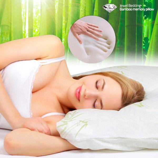 Bamboo Jewel Bedding Memory Foam Pillow-Universal Store London™