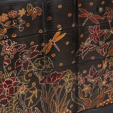Batik chest 3 drawers - Paradise Collection by Craftenwood-Universal Store London™
