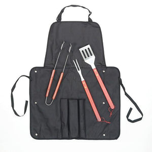 BBQ Classics Barbecue Utensils and Apron-Universal Store London™