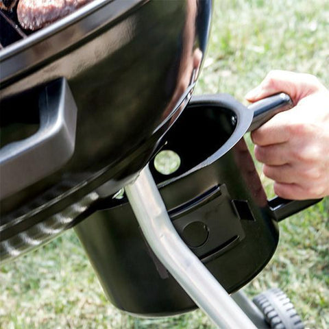 Image of BBQ Classics Black Charcoal Barbecue with Lid and Wheels-Universal Store London™