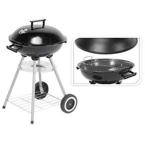 BBQ Classics Coal Barbecue with Cover and Wheels-Universal Store London™