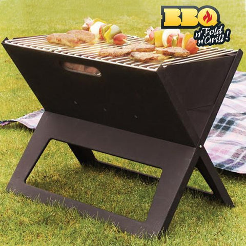 Image of BBQ Quick Folding Portable Barbecue-Universal Store London™