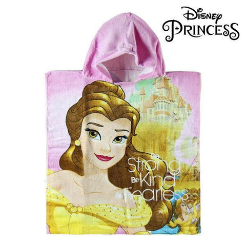Image of Beauty and The Beast Hooded Poncho Towel-Universal Store London™