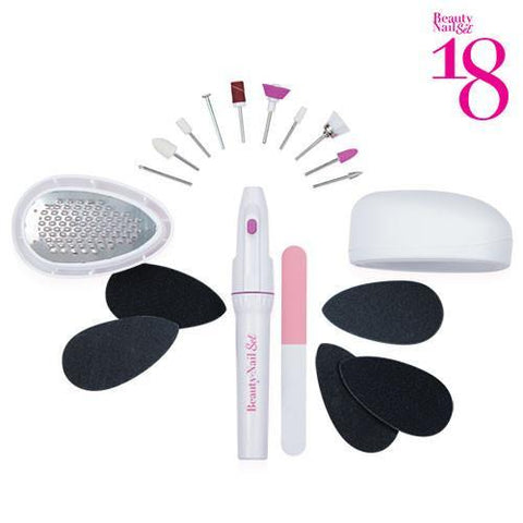 Image of Beauty Nail 18 Pedicure Set-Universal Store London™