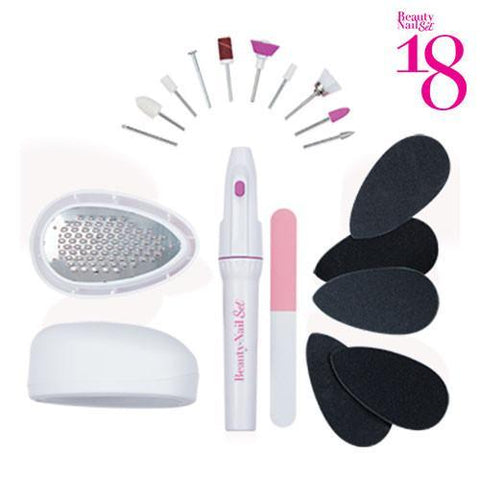 Beauty Nail 18 Pedicure Set-Universal Store London™
