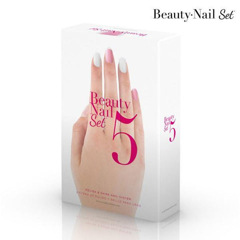 Image of Beauty Nail Set 5 Nail Polisher-Universal Store London™