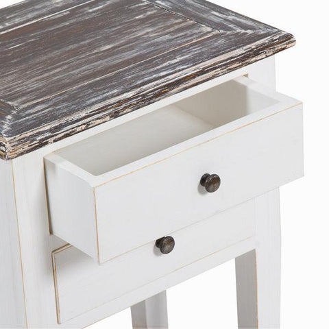 Image of Bedside table 2 drawers by Craften Wood-Universal Store London™