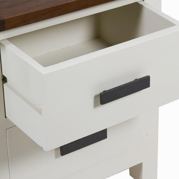 Bedside table lucca - Country Collection by Craftenwood-Universal Store London™
