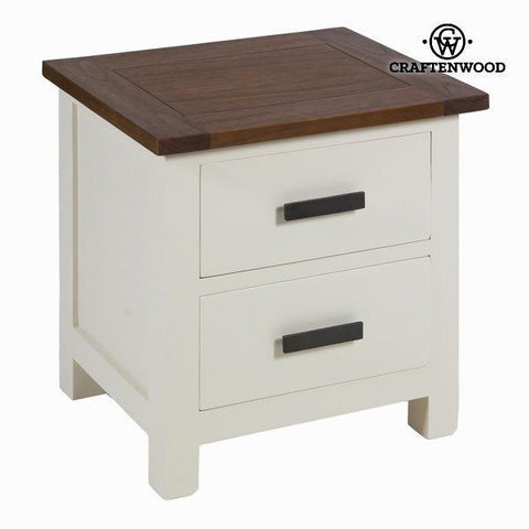 Image of Bedside table lucca - Country Collection by Craftenwood-Universal Store London™