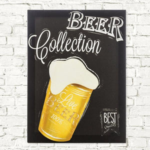 Beer Collection Linen Canvas-Universal Store London™