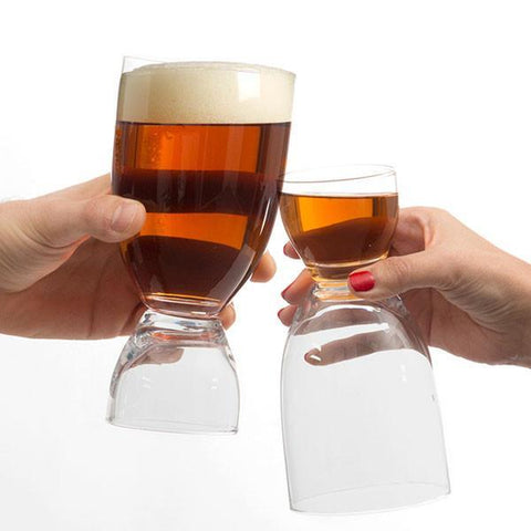 Image of Beer Glass with Shot-Universal Store London™