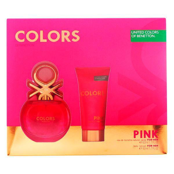 Benetton - COLORS PINK LOTE 2 pz-Universal Store London™