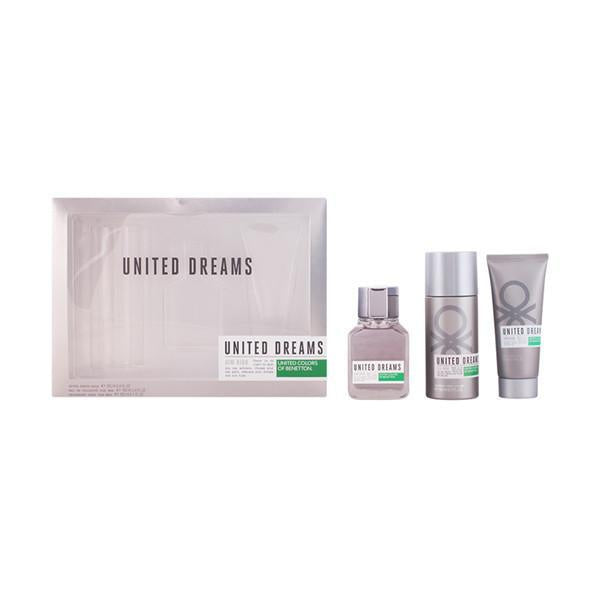 Benetton - UNITED DREAMS MAN AIM HIGH SET 3 Pcs.-Universal Store London™