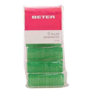 Beter - ROLLERS self-gripping 21 mm 6 pz-Universal Store London™