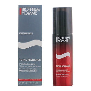 Biotherm - HOMME TOTAL RECHARGE hydratant non-stop 50 ml-Universal Store London™