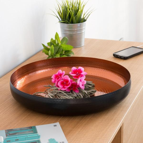 Black Collection Decorative Bowl (Ø 36 cm)-Universal Store London™