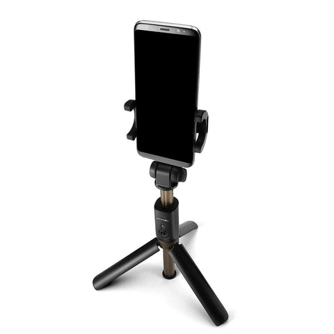 Image of BlitzWolf® BW-BS3 Sport Versatile 3 in 1 Bluetooth Tripod Selfie Stick for Smartphone and Action Camera-Universal Store London™