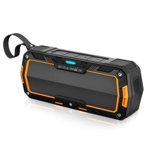 Image of BlitzWolf® BW-F3 IP65 Waterproof Outdoor Hands-Free Portable 2*5W Wireless Bluetooth Speaker-Universal Store London™