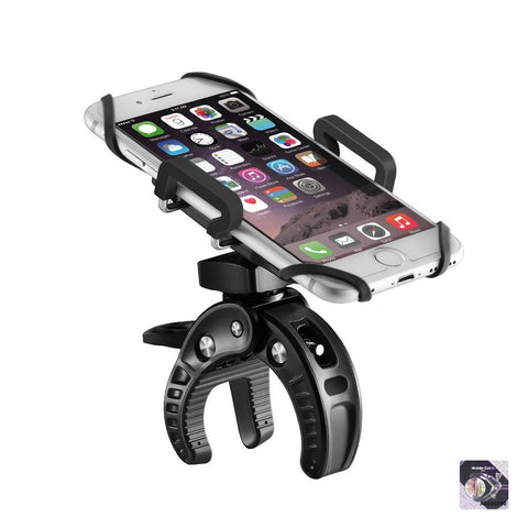 Image of BlitzWolf® BW-MH2 Heavy Duty Handlebar Bike and Motorcycle Smartphone Holder Mount-Universal Store London™