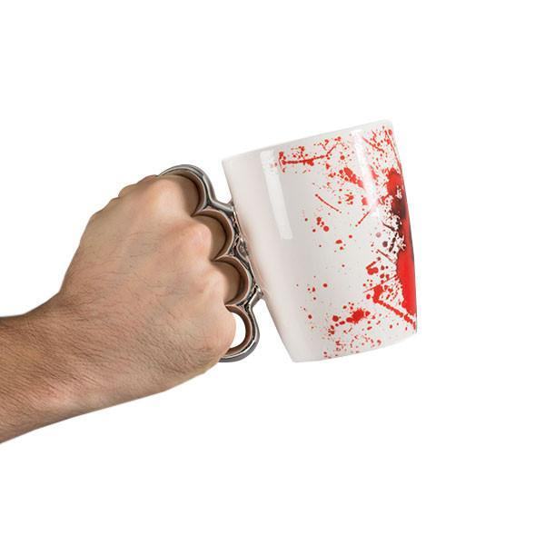 Bloody Mug with Brass Knuckles-Universal Store London™