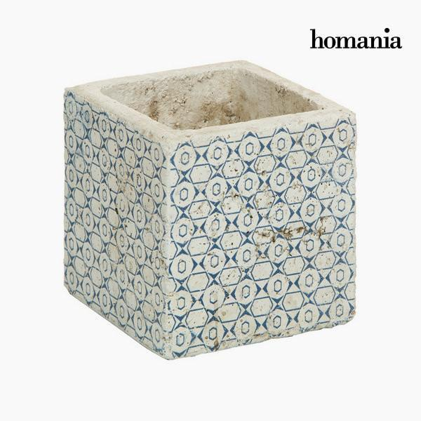 Blue ceramic pot by Homania-Universal Store London™