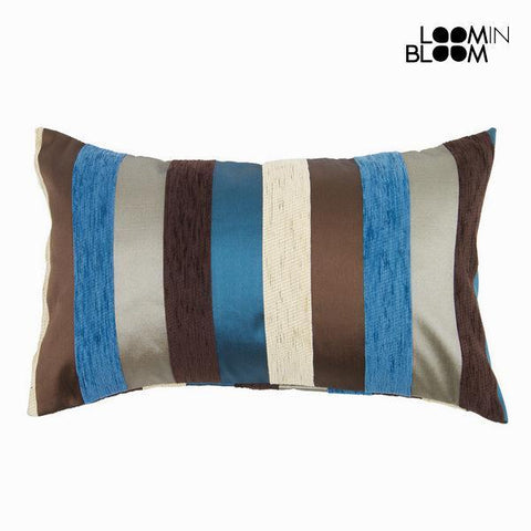 Image of Blue motegi cushion - Colored Lines Collection by Loom In Bloom-Universal Store London™