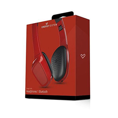 Bluetooth Headset with Microphone Energy Sistem MAUAMI0538 8 h Red-Universal Store London™